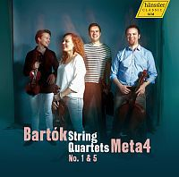 BARTÓK: String Quartets No. 1 & 5 / Meta4