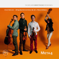 "SIBELIUS, Jean: Meta4 – String Quartet In D Minor, Op. 56 ""Voces Intimae"" (LP)"