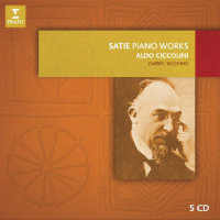 SATIE, Erik / Aldo Ciccolini: Satie Piano Works (5CD)