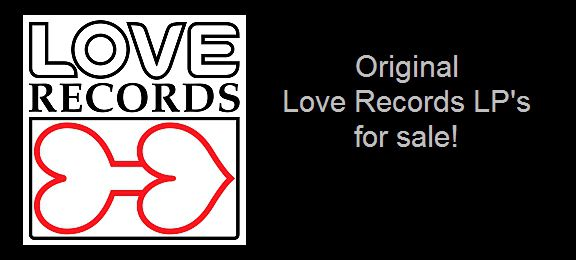 Love Records original LPs for sale